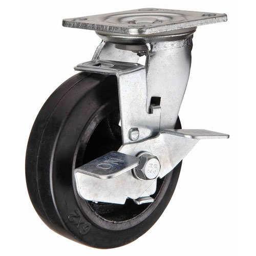 Применение большегрузных обрезиненных колес для тележек